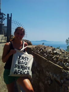 Last bag before Afrika